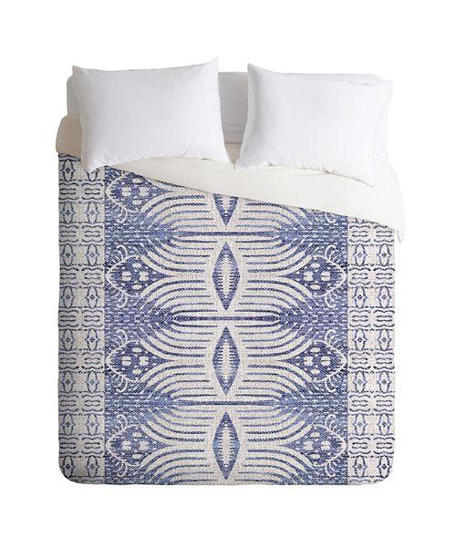 Deny Designs Holli Zollinger French Linen Tribal Ikat King Duvet Set