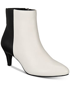 Alfani Women's Hariss Step 'N Flex Booties, Created for Macy's