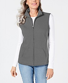 Sport Quilted Fleece Vest, Created for Macy's