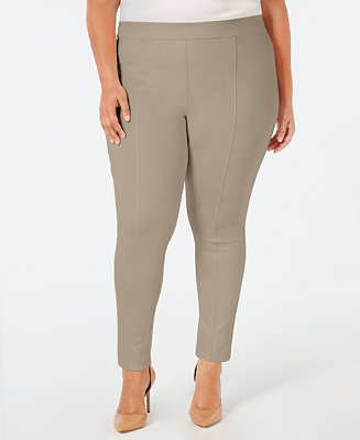 2190f5d22af Style   Co Plus Size Seamed Ponte Leggings