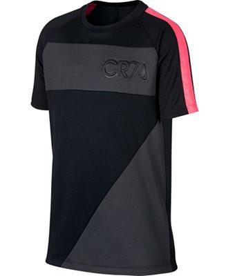 buy online c00f1 b2144 Nike Big Boys Dry CR7 Academy T-Shirt & Reviews - Shirts ...