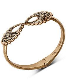 Lucky Brand Gold-Tone Openwork Cuff Bracelet