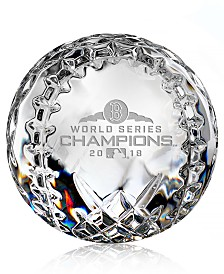 Waterford 2018 Boston Red Sox MLB World Series Baseball Collectible