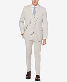 Perry Ellis Men's Slim Fit Suit