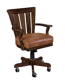 Santa Fe Dark Chocolate Game Chair