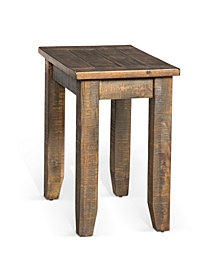 Homestead Tobacco Leaf Chair Side Table
