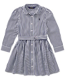 Toddler Girls Bengal Stripe Dress