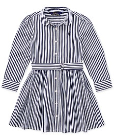 Polo Ralph Lauren Toddler Girls Bengal Stripe Dress