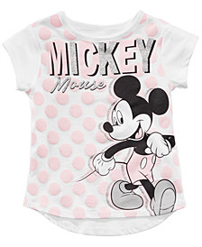 Disney Little Girls Mickey Mouse T-Shirt