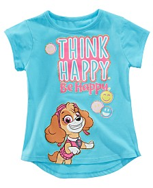 Nickelodeon Paw Patrol Little Girls Think Happy T-Shirt