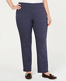 Charter Club Cambridge Pull-On Pants, Created for Macy's