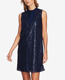 CeCe Sequin Shift Dress