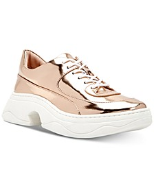 Vandall Mirror Metallic Sneakers