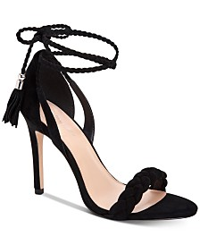 BCBGeneration Jessica Lace-Up Dress Sandals