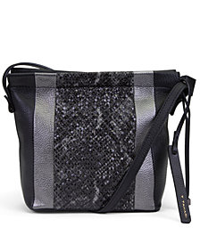 T Tahari Sienna Bucket Crossbody