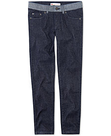 Levi's® Big Girls Contrast-Waist Jeans