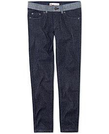 Levi's® Big Girls Contrast-Waist Jeans
