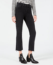 Joe's High Rise Cropped Bootcut Jeans
