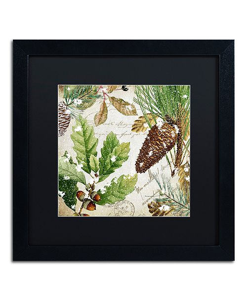 """Trademark Global Color Bakery 'Snow Cones Ii' Matted Framed Art, 16"""" x 16"""""""