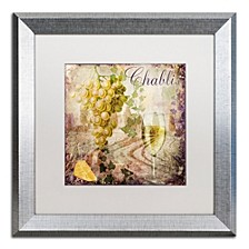 "Color Bakery 'Wine Country V' Matted Framed Art, 16"" x 16"""
