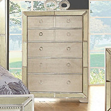 Modern Victorian Style Chest With Loop Handles