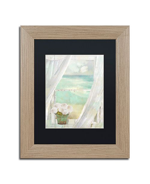 "Trademark Global Color Bakery 'Summer Me Ii' Matted Framed Art, 11"" x 14"""