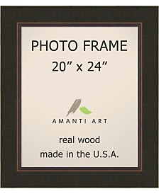 """Amanti Art Milano Bronze 20"""" X 24"""" Opening Wall Picture Photo Frame"""