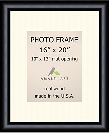 """Amanti Art Steinway Black 16"""" X 20"""" Matted to 10"""" X 13"""" Opening Wall Picture Photo Frame"""