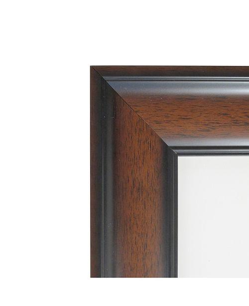Amanti Art Cyprus Walnut 18 X 22 Opening Wall Picture Photo Frame