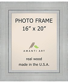 """Romano Silver 16"""" X 20"""" Opening Wall Picture Photo Frame"""