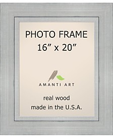 """Amanti Art Romano Silver 16"""" X 20"""" Opening Wall Picture Photo Frame"""