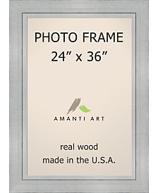 """Amanti Art Romano Silver 24"""" X 36"""" Opening Wall Picture Photo Frame"""