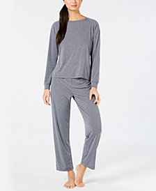 Charter Club Super-Soft Knit Pajama Set, Created for Macy's