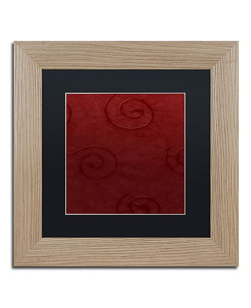 """Trademark Global Color Bakery 'Sweet Holiday Iv' Matted Framed Art, 11"""" x 11"""""""