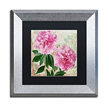 Color Bakery 'Sonata I' Matted Framed Art
