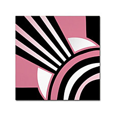 Color Bakery 'Daring Deco I' Canvas Art