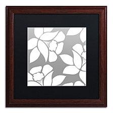 Color Bakery 'Calyx Floral' Matted Framed Art