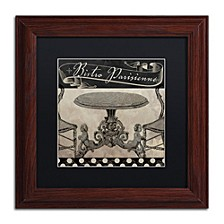 "Color Bakery 'Bistro Parisienne I' Matted Framed Art, 11"" x 11"""