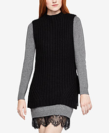 BCBGeneration Sleeveless Tunic Sweater