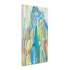 """Lauren Moss 'Serendipity' Canvas Art, 10"""" x 19"""""""