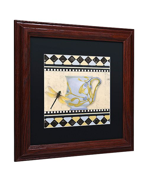 "Trademark Global Color Bakery 'Bistro Nouveau Ii' Matted Framed Art, 11"" x 11"""