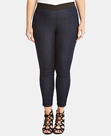 Plus Size Ankle Jeggings