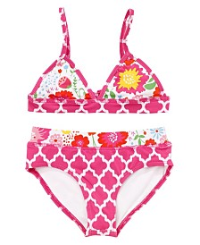 Masala Baby Girl's Sunbather Two Piece Set