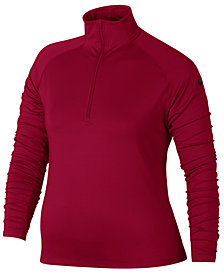 Nike Plus Size Pro Warm Half-Zip Training Top