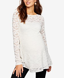 A Pea In The Pod Maternity Lace Top
