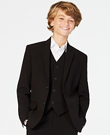 Calvin Klein Big Boys Slim Fit Stretch Suit Jacket