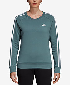 adidas Essentials Fleece Three-Stripe Sweatshirt