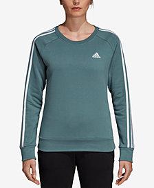 adidas Essentials Fleece Three-Stripe Sweatshirt