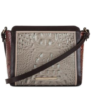 Image of Brahmin Carrie Crossbody Pecan Ross