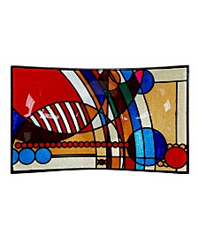 "Frank Lloyd Wright March Balloons Rectangle Plate, 14.5"" x 9"" x 2.5"""